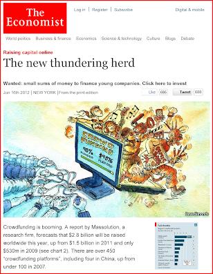 The Economist - CrowdFunding